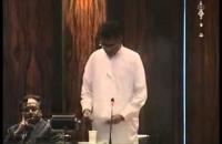 Hon Patali Champika Ranawaka. parliament 18 06 2014