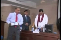Annual report of Finance Ministry - 2013 presented to President