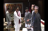 Bilateral with Prime min  of Nepal