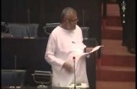 Hon Douglas Devananda. parliament 18 06 2014