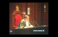 special speech Hon  ravi karunanayaka 2015 11 26