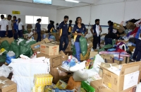 Pix Shows the Relief Goods Being Collected and Ready for Dispatch, to Affected Areas @ Colombo AirPort (Ratmalana)_3