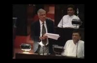 Hon Prime Minister Ranil Wickramasinghe Speech@Parliament  07 04 2015