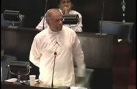 Hon  Dinesh Gunwardana. parliament 18 06 2014