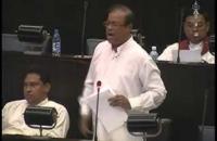 Hon Susil Premajayantha. parliament 18 06 2014