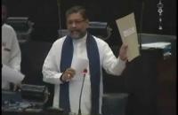 Budget 2015   Hon Minister Thissa Karaliyadda Speech Nov 10