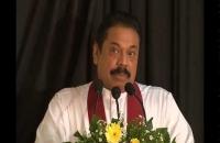 President's speech at Wellampitiya temple
