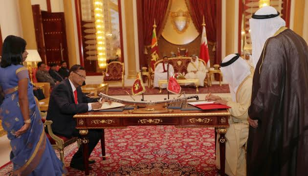 Sri Lanka and Bahrain Hold Bilateral Discussions-1