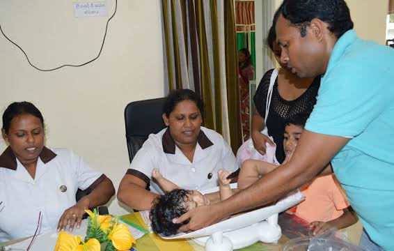 Clinics at Hunupitiya and Sinharamulla 4
