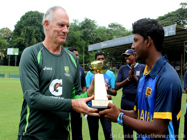Aus U19  SL U19 final matchIMG 8853