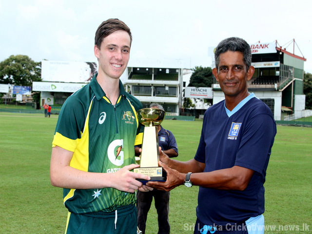 Aus U19  SL U19 final matchIMG 8855