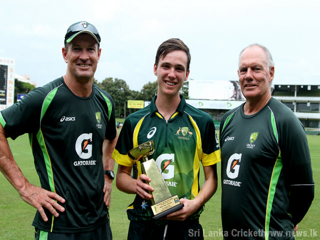 Aus U19  SL U19 final matchIMG 8886
