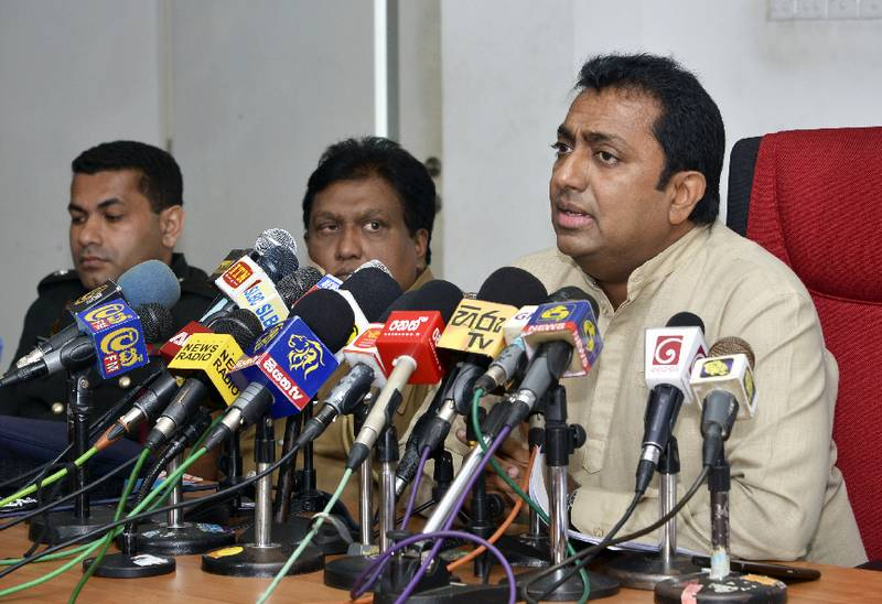 Press Conference in Disaster Management Center - 29-05-2017