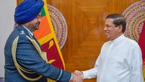 Air Chief Marshal Birender Singh Dhanoa called on President
