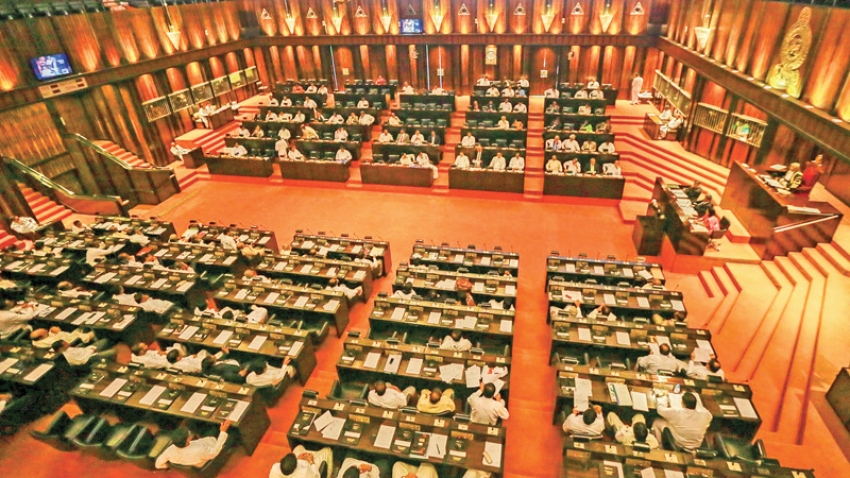Parliamentary proceedings  in a very peaceful manner