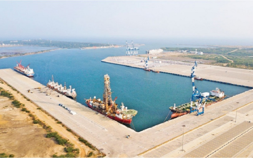 Over 300 vessels call  at Hambantota Int'l Port in 2018
