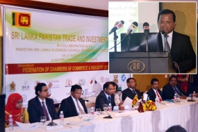 BOI outlines Sri Lanka's attractive investment climate at Sri Lanka Pakistan Trade and Investment Forum 2015