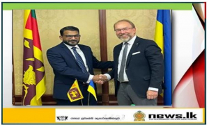 , State Minister Tharaka Balasuriya discusses potential for enhancing tourism and economic ties with Ukrainian counterparts,