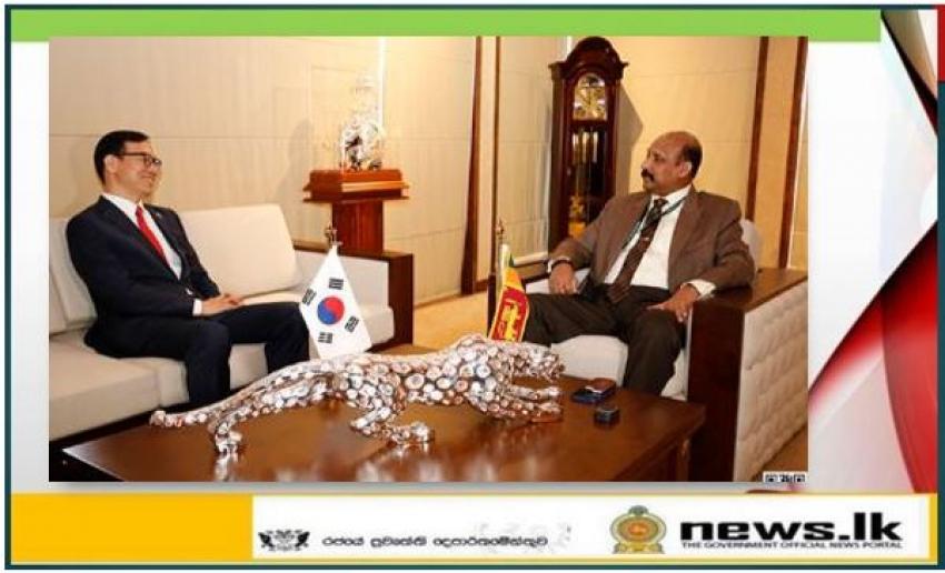 South Korean Ambassador meets Defence Secretary