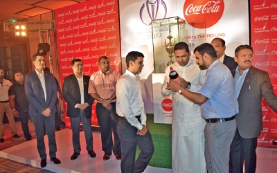 Sports Minister, Aravinda and Coca Cola throw weight behind Lankan team