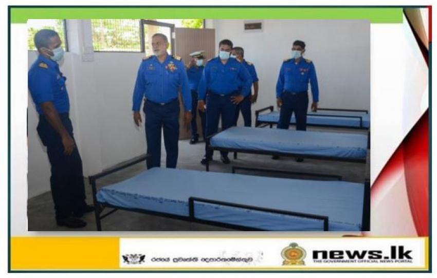 New junior sailor accommodation building declared open at SLNS Deegayu