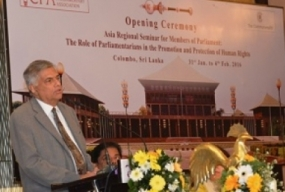 Commonwealth Regional Seminar commenced today in Colombo