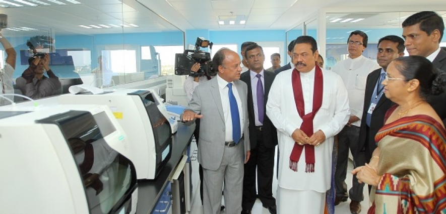 Opening of the First Medical Reference Laboratory in Sri Lanka