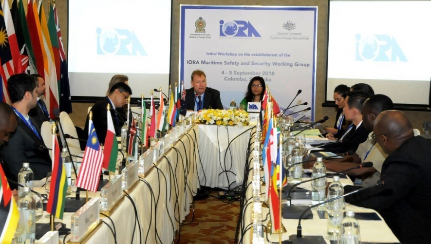 IORA TO SETTING UP WORKING GROUP ON MARITIME SAFETY AND SECURITY IN SRI LANKA