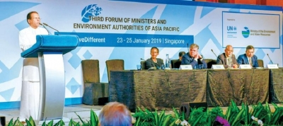 Lanka's environment commitment reaffirmed at Asia Pacific Forum