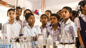 Opening of three technical laboratories today in Matale