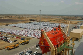 MRMR Port exceed 100,000 units of Vehicle Handling this Year