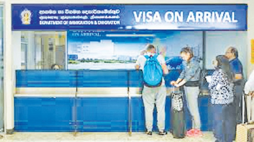 Visa on arrival put on hold