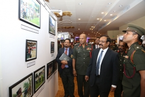 Sri Lanka Army Sports Photo Exhibition now at BMICH
