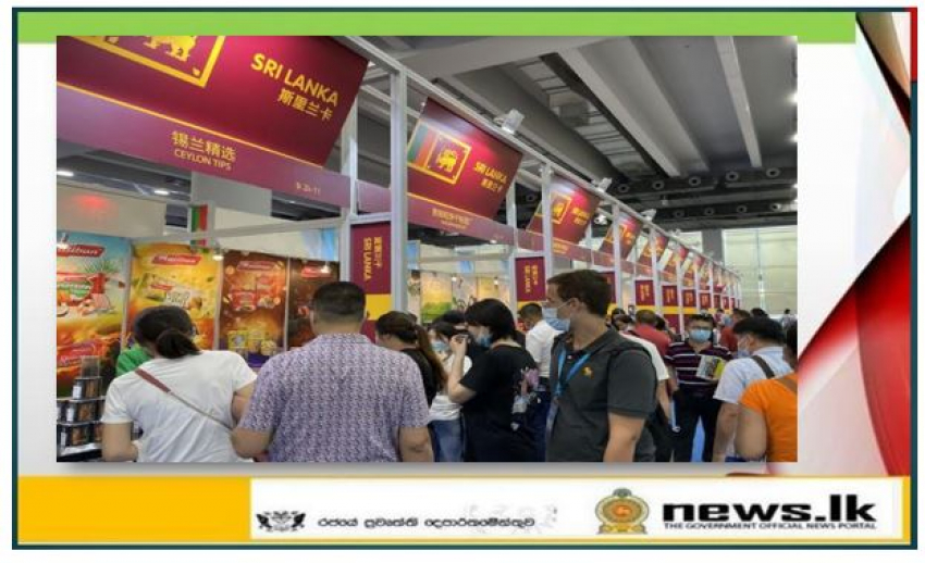 Securing prospective buyers for Sri Lankan products at the 17th China International Small and Medium Enterprises Fair in Southern China