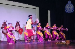 SLN Cultural Troupe entertains visiting Indian naval ships' crew