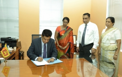 Dr. Charitha Herath assumes duty today