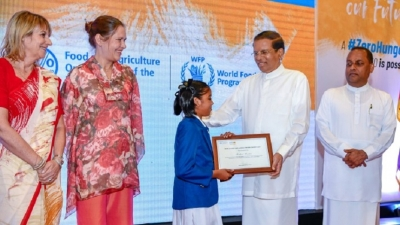World food day celebration under Presidents patronage