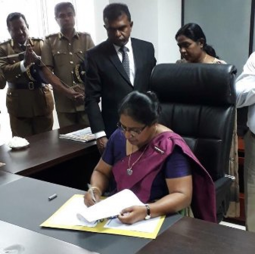First ever female Excise Department Commissioner General assumes duties