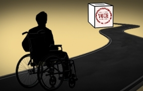 Special facilities for the disabled for voting
