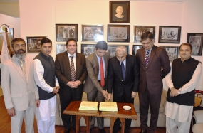 Pakistan HC celebrates Quaid's Day in Colombo