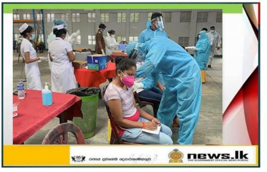 Navy supports COVID-19 inoculation drive in Export Processing Zone, Katunayake