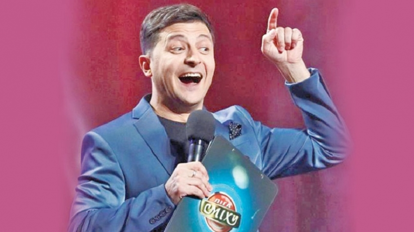 Comic poised to take over Ukraine Presidency