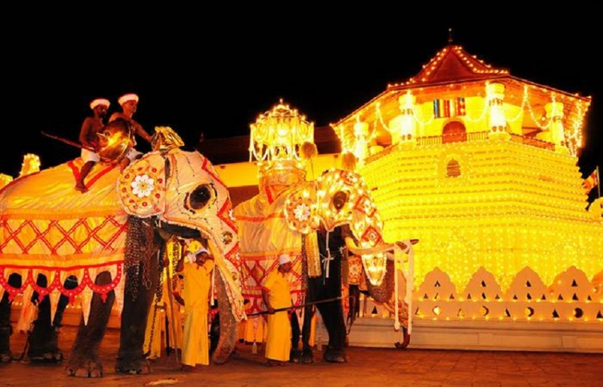 Security strengthened for Kandy Perahera