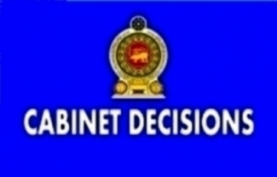 Decisions taken by the cabinet of ministers at its meeting held on 10-05-2016