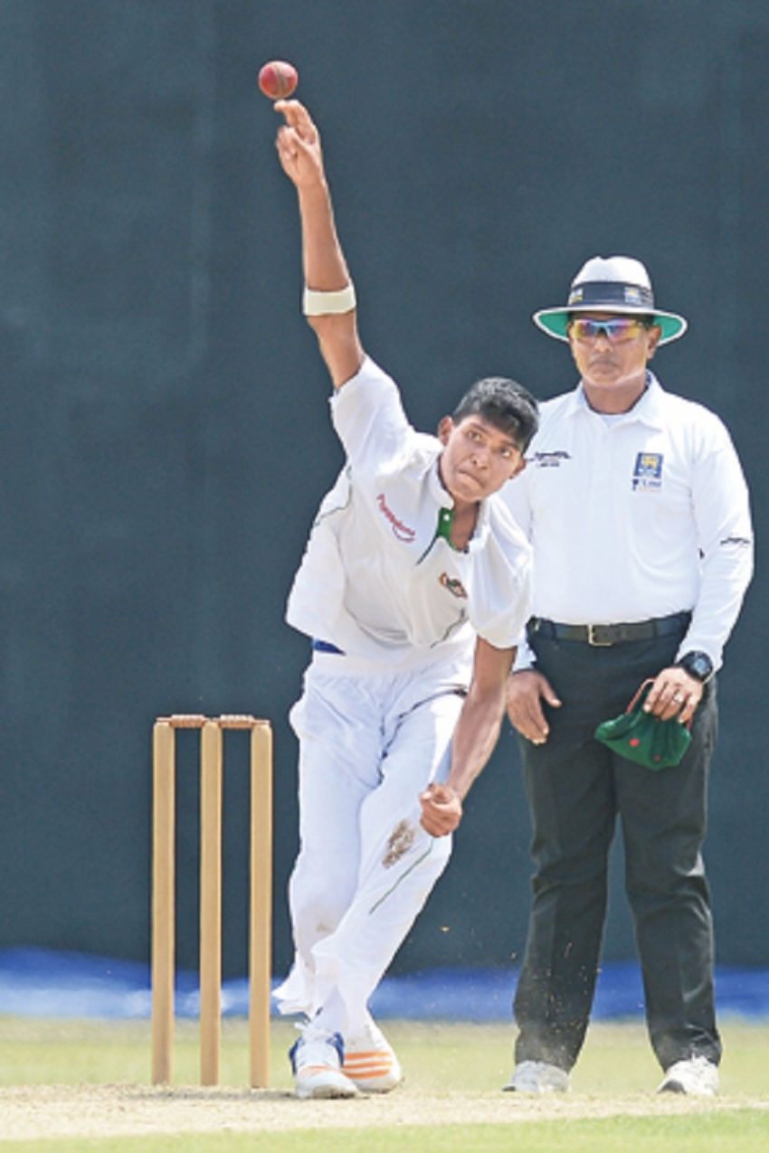 Lanka U19 finish day one on 219/9