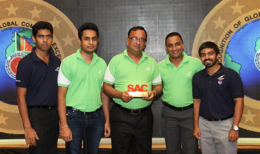 "SriLankan Quiz Team wins a top slot at the Global Commerce Quiz for the "" Governor's Challenge Trophy 2014"