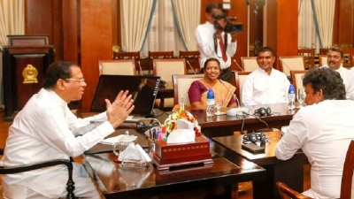 Tamil representatives meet President