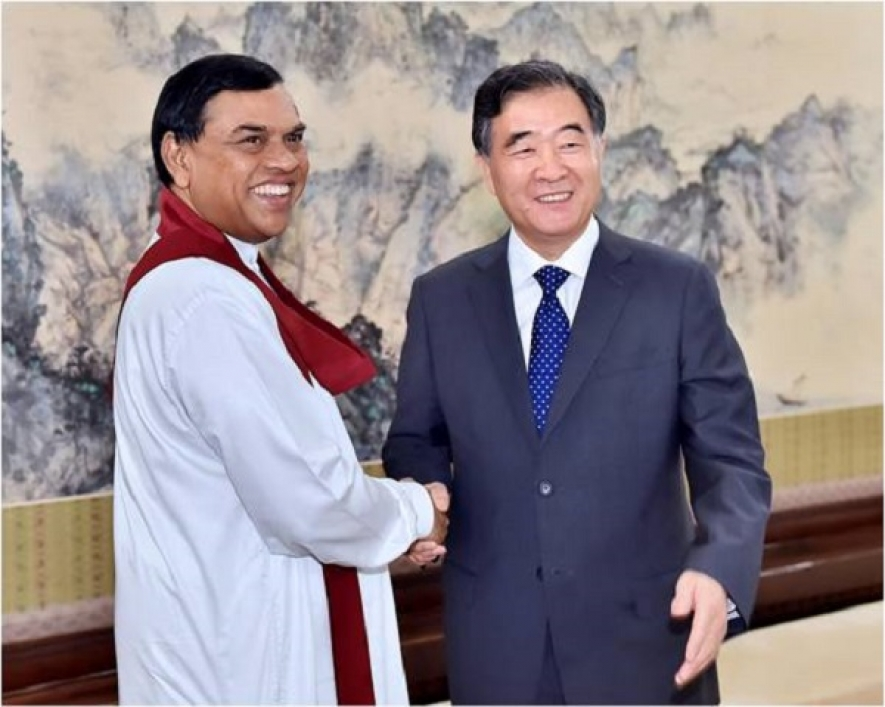 Minister Basil Rajapaksa visits China as Special Envoy of the President