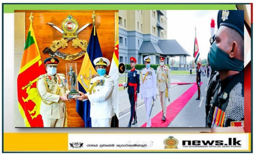 CDS & Army Commander Lending Best Wishes Recalls Great Achievements of Admiral Piyal de Silva