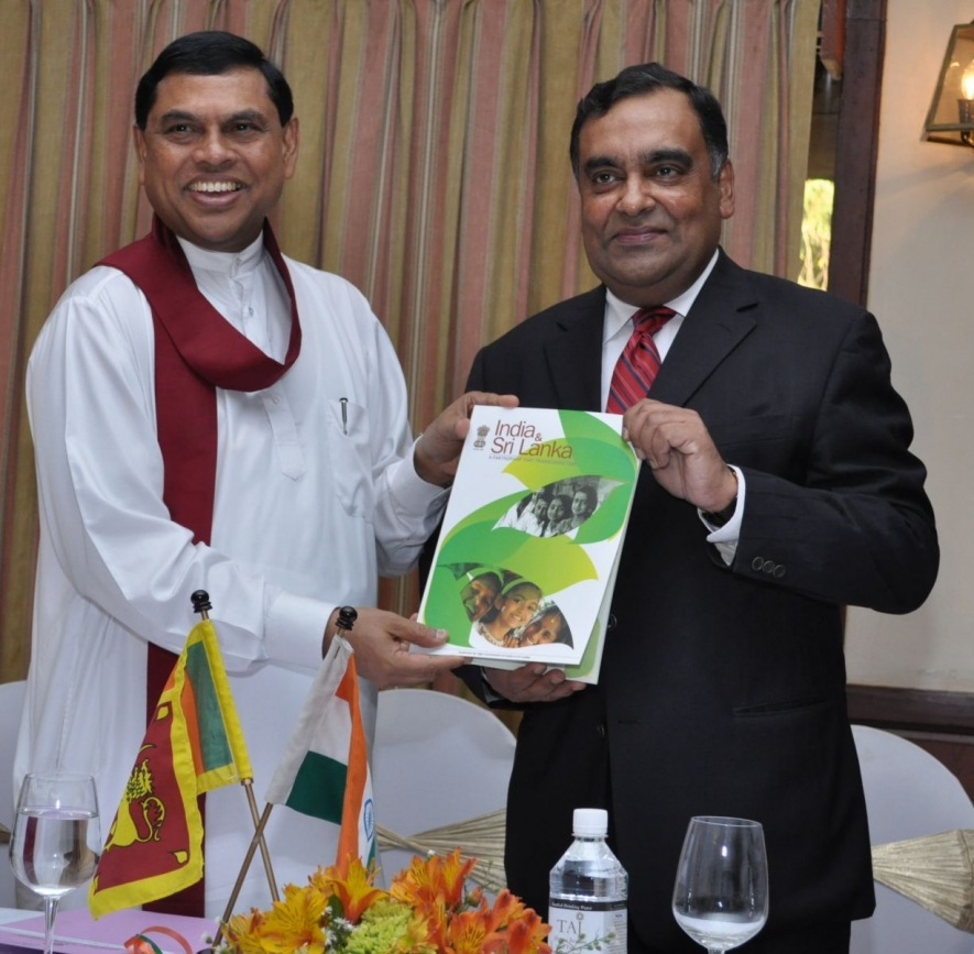 "Release of Brochure titled ""India & Sri Lanka: A Partnership That Transcends Time"""